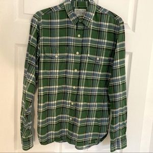 LUCKY BRAND PLAID FLANNEL SHIRT - Size small